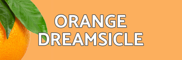 Orange Dreamsicle Italian Ice